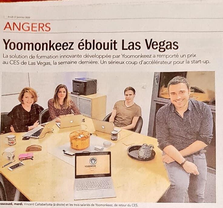 Yoomonkeez éblouit Las Vegas