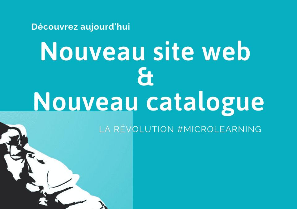 Nouveau site web & Nouveau catalogue