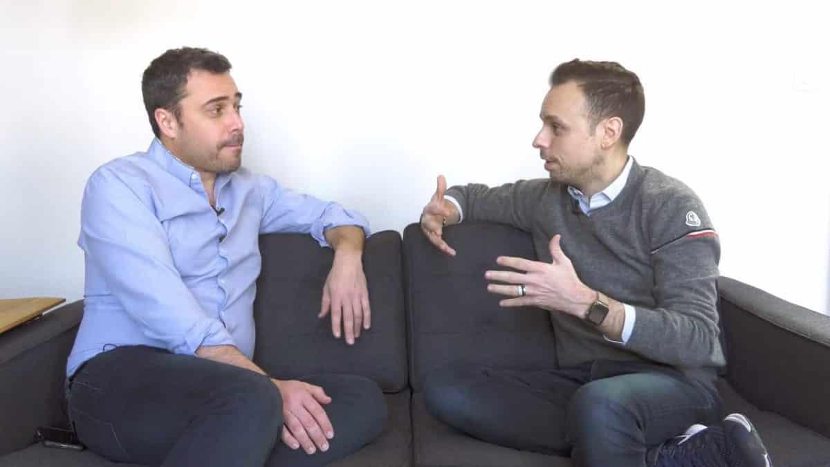 Vincent Caltabellotta et Manuel Diaz