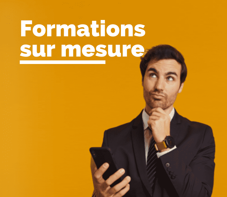Modules de formations sur mesure