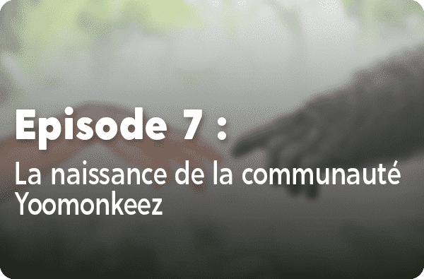 Notre histoire - Episode #7 - La naissance de la communauté Yoomonkeez