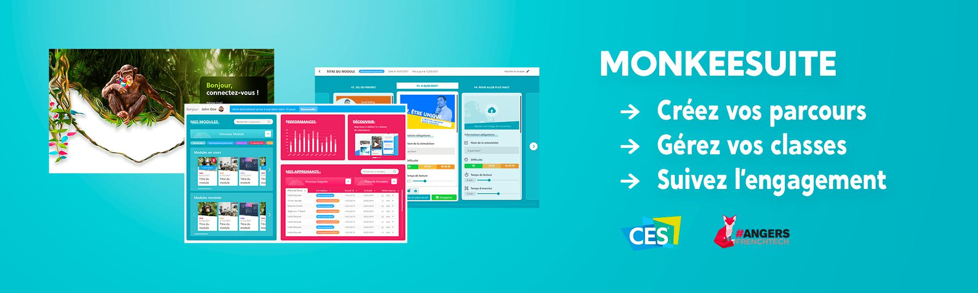 Plateforme microlearning MonkeeSuite